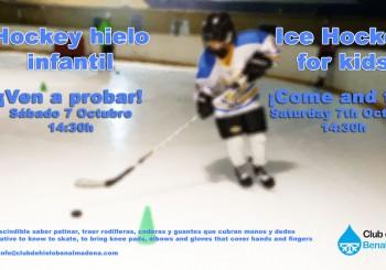 Hockey hielo infantil / Ice hockey for kids Benalmádena