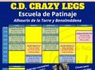 Clases de patinaje 2021-2022 con Club Crazy Legs